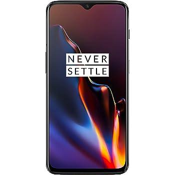 OnePlus 6T Smartphone débloqué 4G (Ecran : 6,41 pouces - 8 Go RAM - 128 Go Stockage - Double Nano-SIM - Android) Mirror Black [Version française]