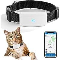 Mini Localizzatore GPS Tracker Collare per Pets Cani e Gatti Animali Impermeabile, GSM/GPRS/GPS Tracker Real-time con…