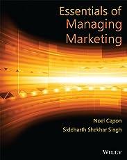 Essentials of Managing Marketing