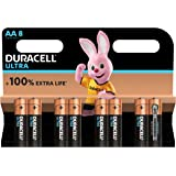 Duracell Ultra AA Batteries Pack of 8