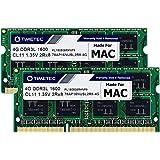 Timetec Hynix IC 8GB Kit (2x4GB) DDR3 1600MHz PC3-12800 SODIMM Memory Upgrade für Mac 8GB Kit (2x4GB)