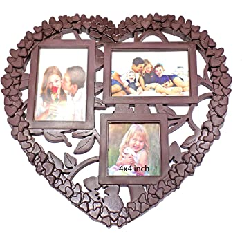 Buy Fully Heart Shape Photo Frames Collage Wall Hanging For Home