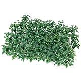 50 st. grön landskapsmodell marktäckare gräs med krossade blad