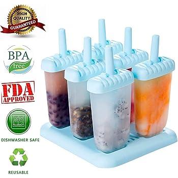 6 PC Ice Cream Pop Formen Maker Formen Jelly Pop Mold Maker