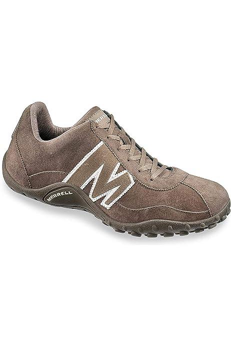 Merrell Sprint Blast Zapatillas para hombre de cuero marrón