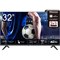 Hisense 32AE5500F 80 cm (32 Zoll) Fernseher (HD, Triple Tuner DVB-C/S/S2/T/T2, Smart-TV, Frameless, Prime Video, Netflix…