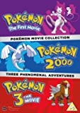 Pokemon Movie Collection (Pokemon The First Movie Pokemon The Movie 2000 Pokemon 3 The Movie) izione: Regno Unito] [Import italien]
