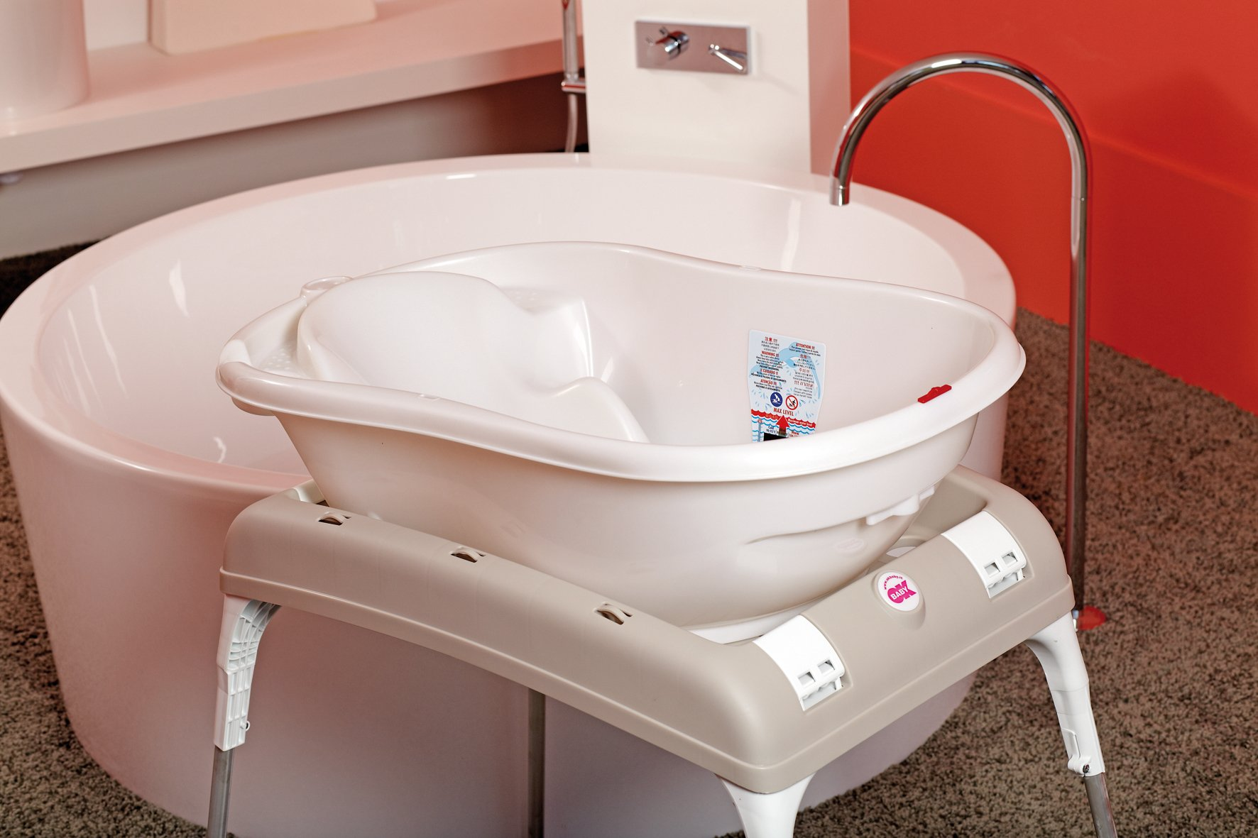 OKBaby Onda 3-in-1 Multi-Stage Baby Bath
