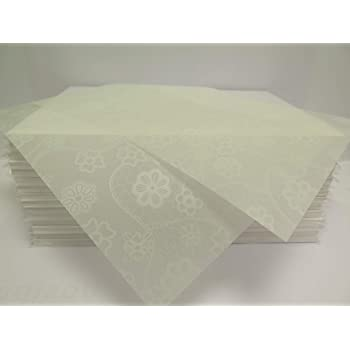 Vellum Translucent Lace Print Paper A4 100gsm For Arts Crafts 10