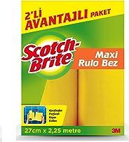 Scotch-Brite 1968363 Rulo Temizlik Bezi, 2'li