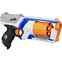 NERF Strongarm N-Strike Elite Toy Blaster with Rotating Barrel,Slam Fire, 6 Darts for Kids, Teens, Adults