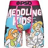 PSD Underwear Men's Stretch Wide Band Boxer Brief Underwear Bottom - Scooby Doo