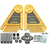 2x Featherboards Spring Loc Board voor Tafelzagen en Router Tafels Hek Gereedschap Mitre Joints Gauge Slot Ramen en Deuren DI