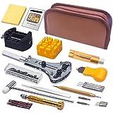 Kit de Reparación de Relojes, Sukudon169 pcs Herramientas de Reparación Profesional para Barra de Resorte, Kit de Herramienta