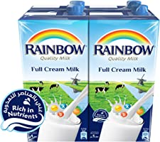 Rainbow Full Cream Milk -  1 Litre (Pack of 4)