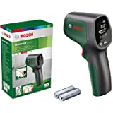 Bosch infrarode thermometer UniversalTemp (temperatuurbereik: –30°c tot +500°c, 2x batterijen, aa, in kartonnen doos)
