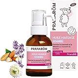 Pranarôm Huile de Massage Sommeil Paisible Favorise le sommeil et la détente au moment du coucher Lavande Vraie et Camomille
