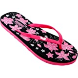 HITLIFE Women's Girls Fashion Slippers Comfy Outdoor Floral Flip Fop