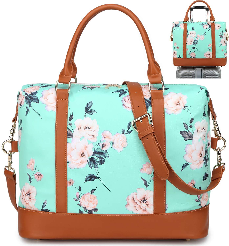 71gbegolQRL - Bolso de Viaje Mujer de Mano Impermeable Bolso de Compras Grande Bolsa de Deporte Duffle Bag con Puerto USB para…