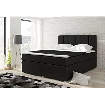 justyou bolero lit boxspring lit double lit haut de forme. Black Bedroom Furniture Sets. Home Design Ideas