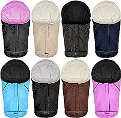 Winterfußsack für Babyschale Autobabyschale Kinderwagen Fußsack Babyfußsack in 8 verschiedenen Farben