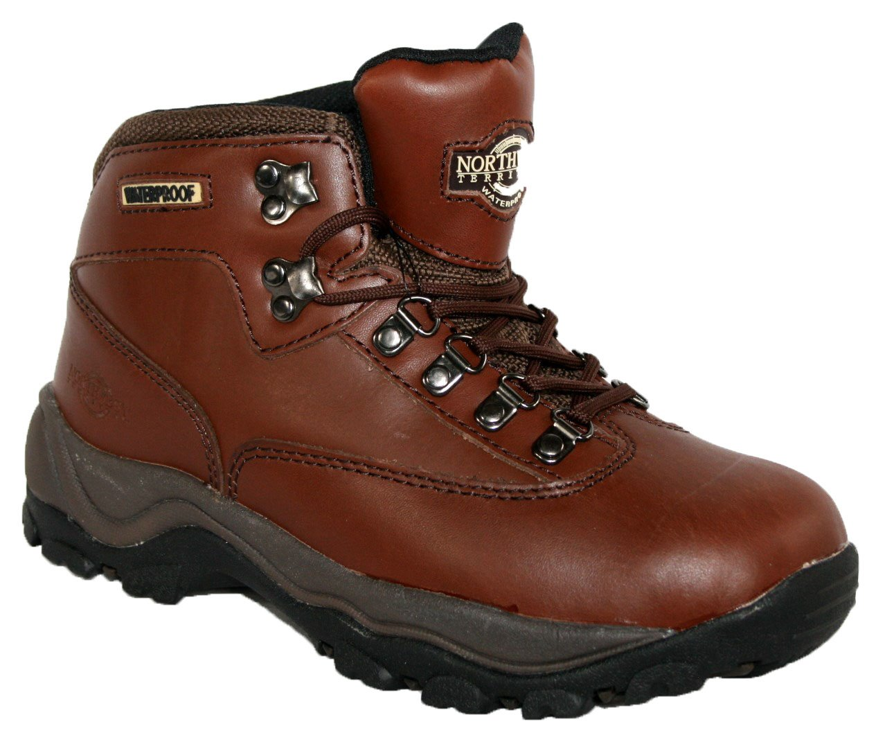 71gcVkM6jUL - LADIES PEAK LACE UP PREMIUM LEATHER UPPER WATERPROOF WALKING/HIKING TREKKING BOOT