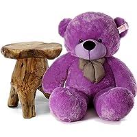 OSJS Soft Toys Lovable/Huggable Teddy Bear for Girlfriend/Birthday Gift/Boy/Girl Purple 3 feet (90 cm)