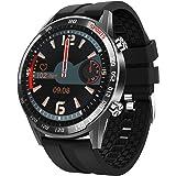 BingoFit Smart Watch for Men, Full Touch Screen Activity Tracker Heart Rate Monitor Blood Pressure Fitness Smartwatch, Waterp