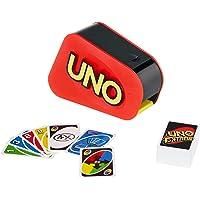 Mattel Games UNO Extrême, jeu de société et de cartes avec distributeur aléatoire, sonore et lumineux, 2 à 10 joueurs…