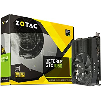 ZOTAC GeForce GTX 1050 2GB Mini ZT-P10500A-10L DP + HDMI + DVI-D Scheda Video Gaming