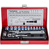 Taparia S1/4H 1/4-Inch Square Drive Socket Set