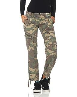ZARMEXX FY Ladies Cargo Pants Camouflage Army Militaire Casual Pantalon  Denim Pants Tarnlook Vintage Pantalon e83ad5b77a5
