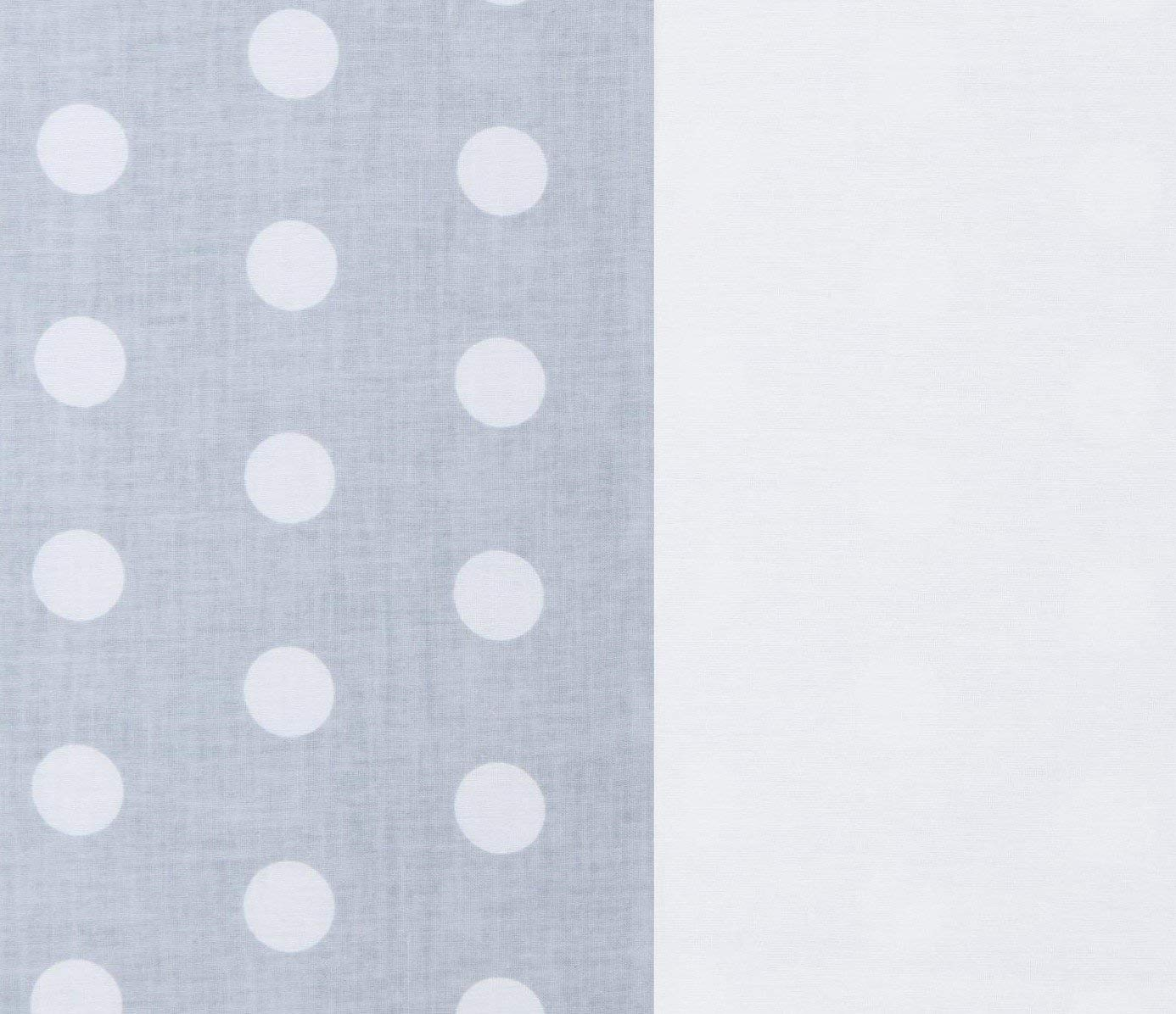 Vizaro – Arrullo – Manta – Mantita Envolvente – Acolchado – Muy Suave – Algodón Puro – Hecho UE, OekoTex – Lunares