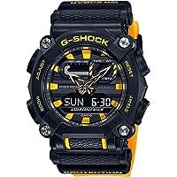 Casio G-Shock By Men's GA900A-1A9 Analog-Digital Watch Black/Yellow