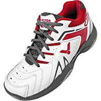 Victor A610 II Mens Badminton/Squash Shoes (White-Red)