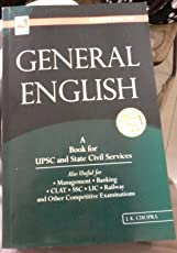 General English a Book for Upsc and State Civil Services