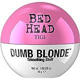 TIGI Bed Head Dumb Blonde Smoothing Stuff Crema Lucidante, Anti-Crespo