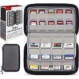 Sisma Korthållare 72 Fack för 40 Spel till Nintendo Switch PS Vita och 32 Spel till Nintendo 3DS 2DS DS - Förvaringsväska Hår
