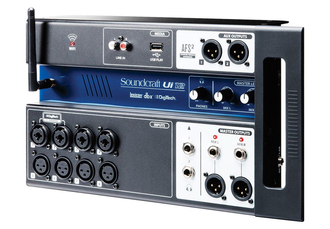SOUNDCRAFT UI 12 MIXER DIGITALE 12 CANALI CONTROLLABILE DA REMOTO