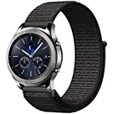 Compatible Samsung Galaxy Watch 42mm/Active/Gear S2 classic watch/Gear sport/Huami Amazfit Bip bands, 20mm Nylon Sport Loop H