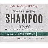 J.R. Liggett Bar Shampoo, Jojoba and Peppermint, 3.5 Ounce