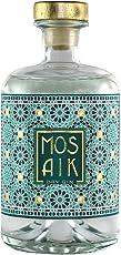 MOSAIK Dry Gin (1x 0,5l) - Blutorange, Zitronengras, Minze & Nelke