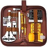 SOONAN Kit de réparation de Montre, 149pcs Ensemble d'outils de Barre de Ressort Professionnel,Outil de réparation Profession