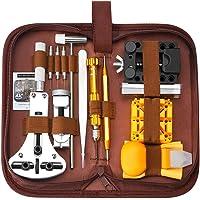 SOONAN Kit de réparation de Montre, 149pcs Ensemble d'outils de Barre de Ressort Professionnel,Outil de réparation…