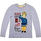 Feuerwehrmann Sam Camiseta de Manga Larga - para Niño