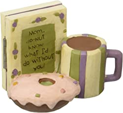"Blossom Bucket ""Do-Nut' Mother's Day Card & Treat"" Decor"