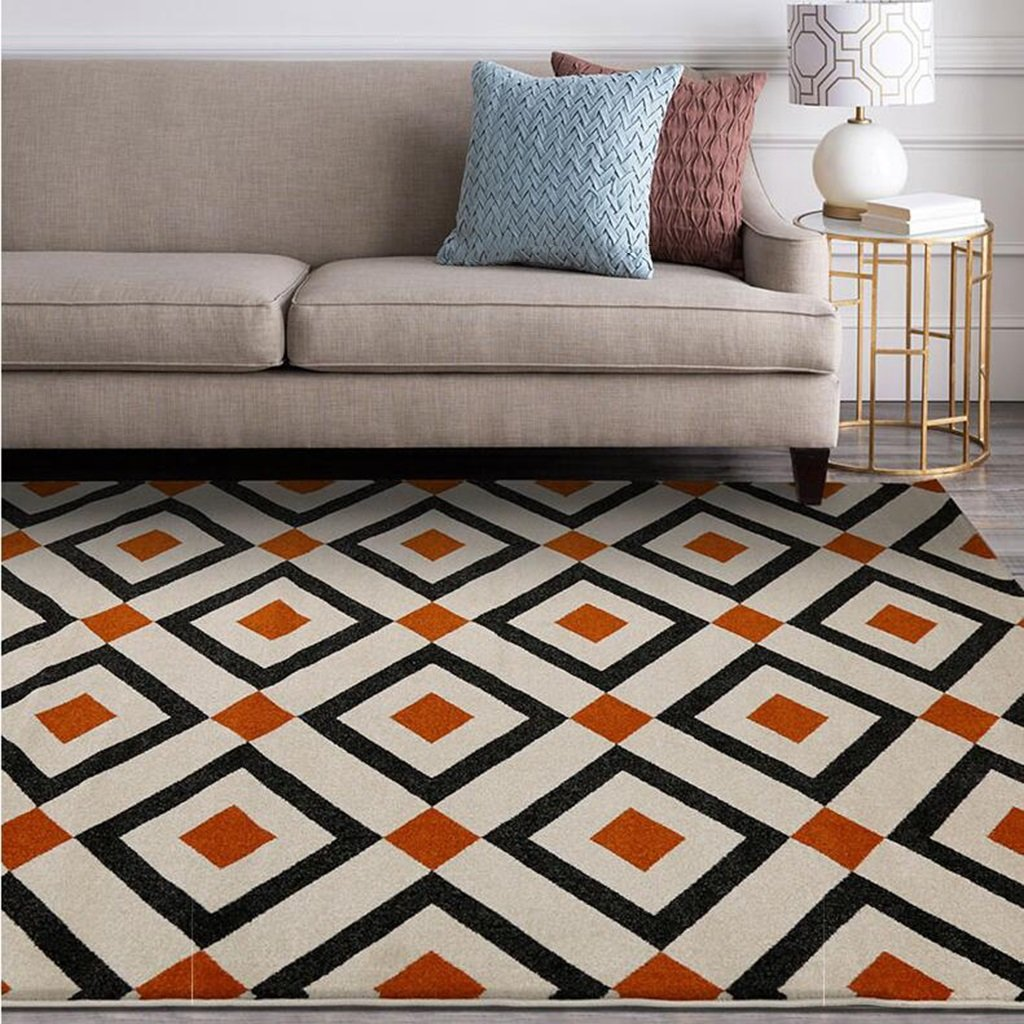 Amazon.de: SUBBYE Wohnzimmerteppich Einfache Moderne Sofa Couchtisch ...
