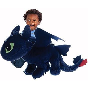 Peluche furie nocturne dragons dreamworks jeux - Peluche furie nocturne ...