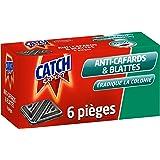 Catch Expert Cafards Blattes – Pièges Anti–Cafards & Blattes –6 pièges contaminateurs –Appât alimentaire pour éradiquer la