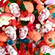 Le caramelle del Terrore Kg 1 - Caramelle Gommose assortite con Dentiere, Teschi, Vermi e Zucche - Senza Glutine